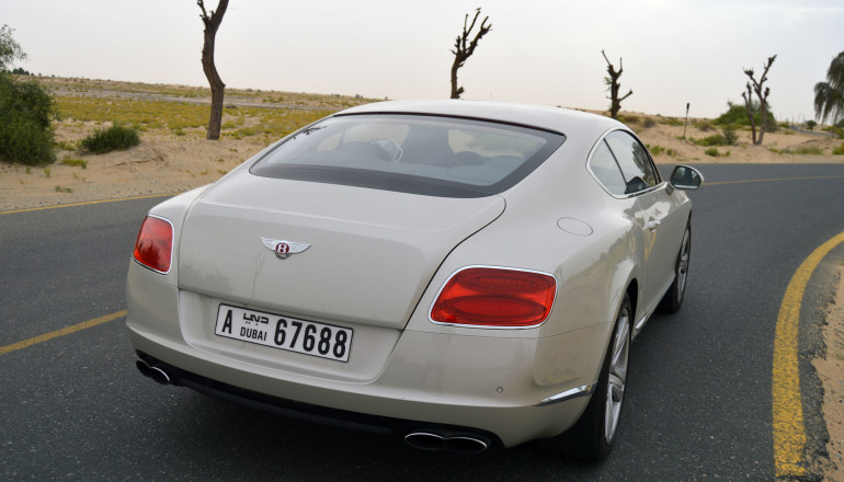 Bentley GT V8 Coupe two door review