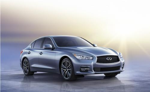 The Q50 was revealed earlier this year as the first worldwide recipient of the new naming tag.
