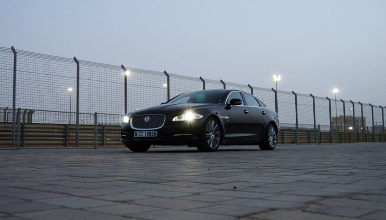 Jaguar XJL review UAE