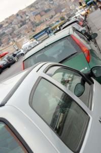 Italian cars in Naples