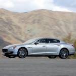 Maserati 6 cylinder Quattroporte first drive