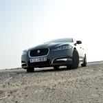 Jaguar XF test drive Dubai