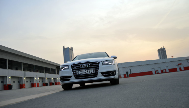 Audi road test UAE