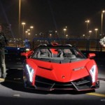 World's most expensive sports car launched on an aircraft carrier in Abu Dhabi!