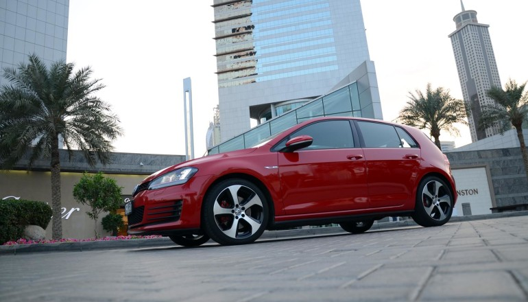 Golf GTI 2014 review Dubai
