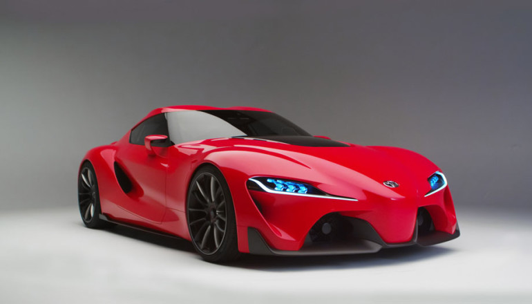 "FT-1 stands for ""Future Toyota,"" and the number ""1"" represents the ultimate"