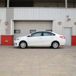 Toyota Yaris sedan 2014 review UAE