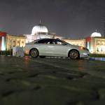 Lincoln MKZ night profile