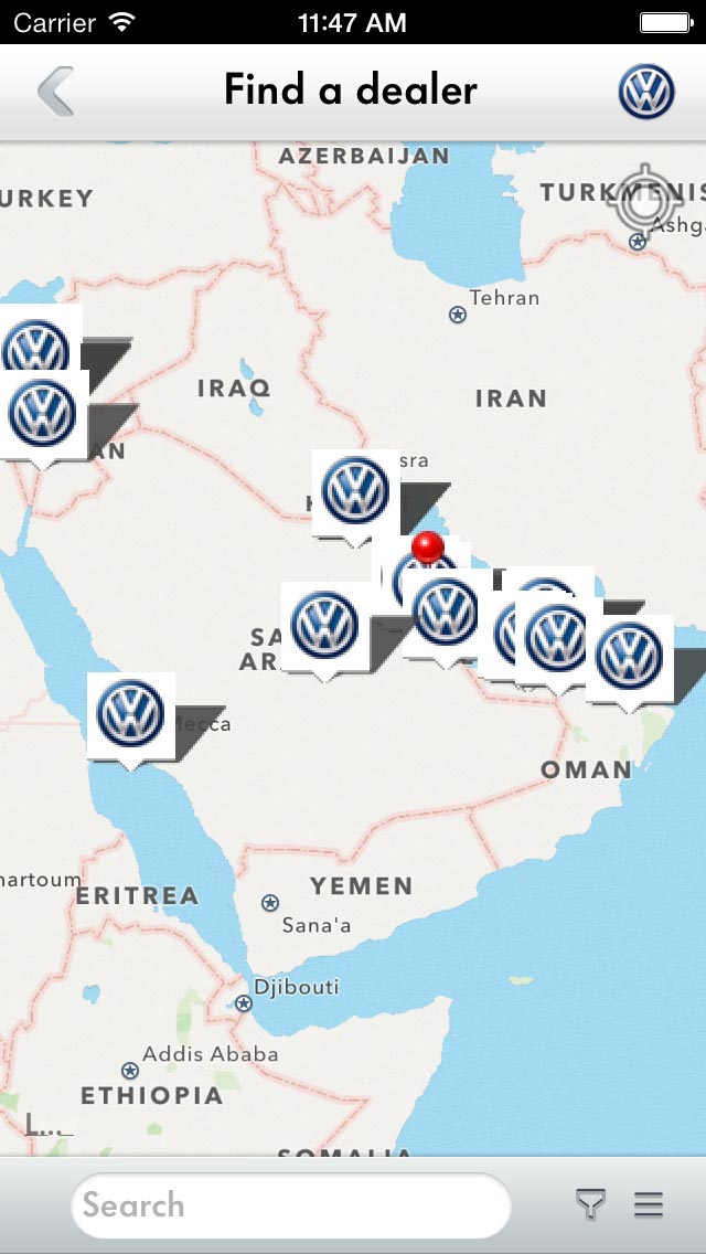 volkswagen service app helps  accident report  parking reminder drivemeonlinecom
