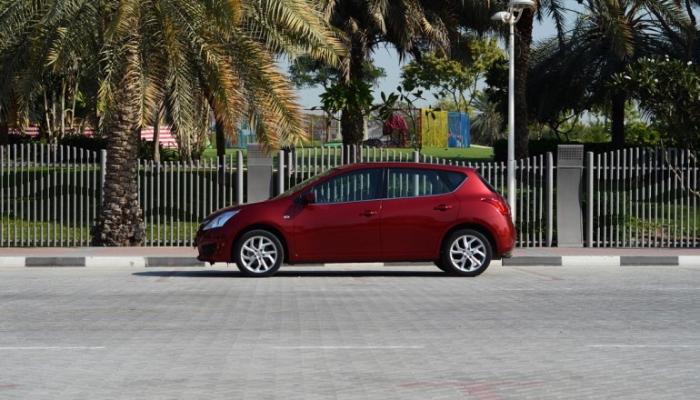 Tiida test review UAE