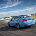 BMW M3 Sedan Rear