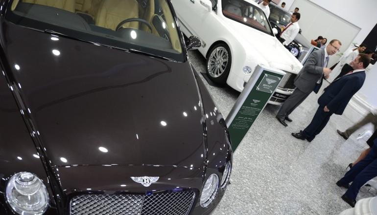Bentley preowned showroom launch