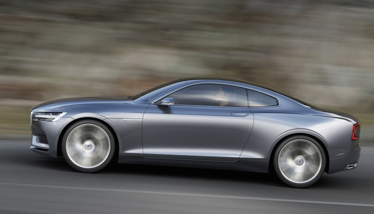 Volvo Concept Coupe profile