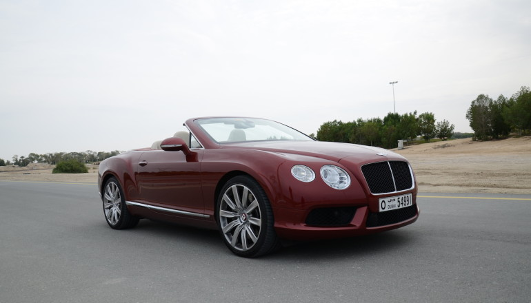 Bentley GTC DriveME review