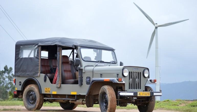 Mahindra Commander windmill