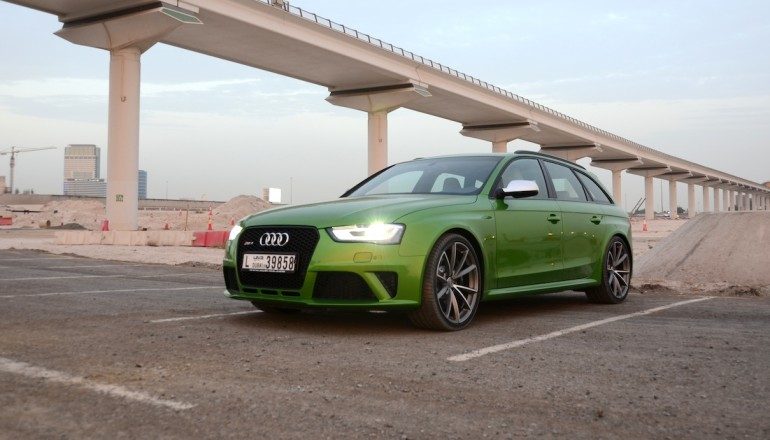 Audi RS4 review UAE
