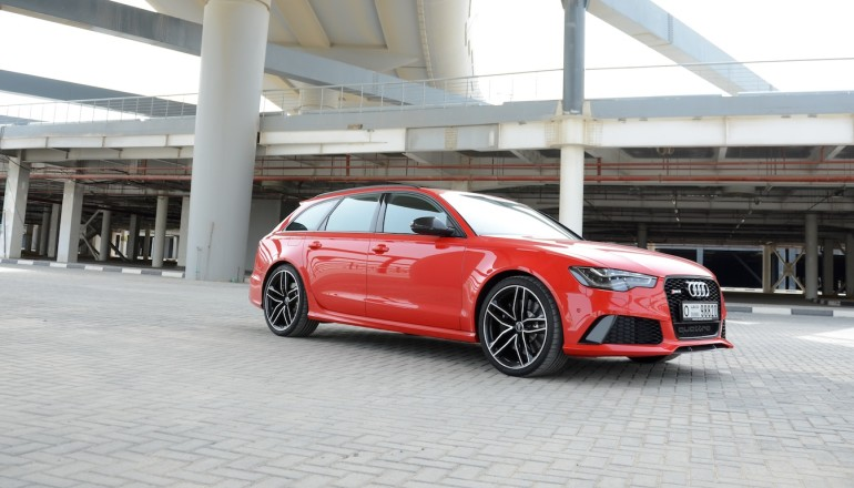 Audi RS6 review Dubai