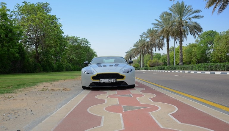 Aston Martin vantage S V12 review UAE