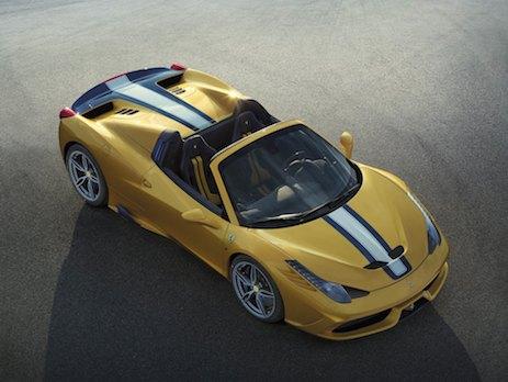 Ferrari 458 Speciale A top