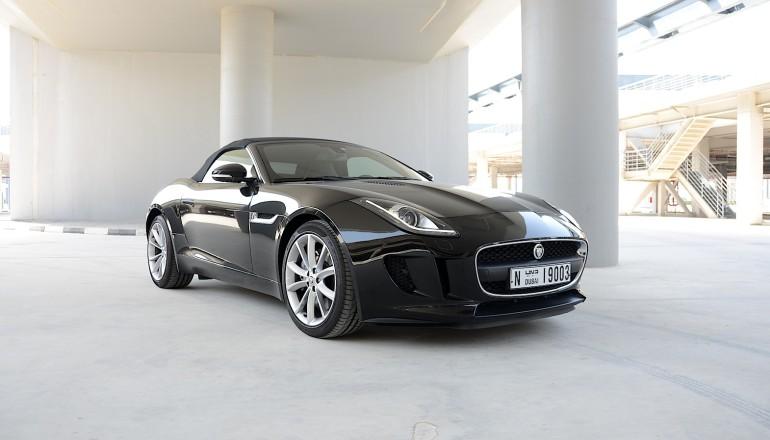 Jaguar F Type V6 review UAE