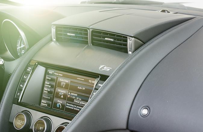 Jaguar F Type console