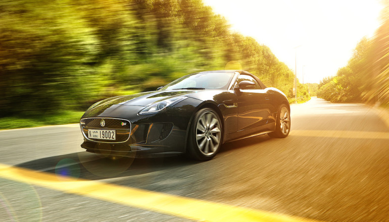 Jaguar F Type review UAE