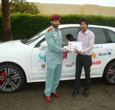 Khawar Habib, Porsche Roadstar Winner