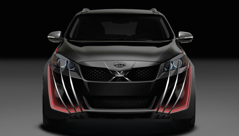 Kia X-Car (Front)