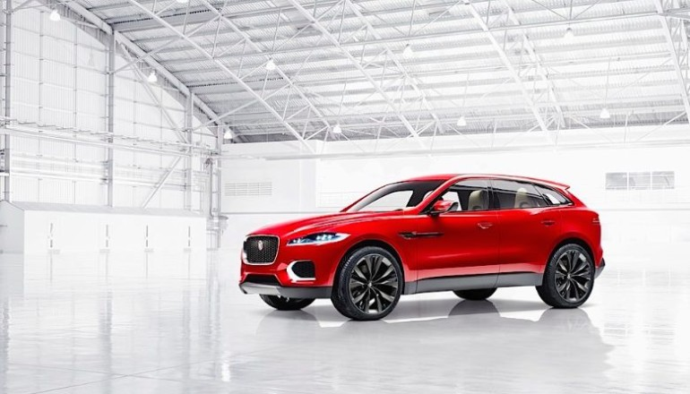 Jaguar C-X17 three quarters