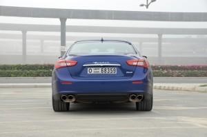 Maserati Ghibli S rear