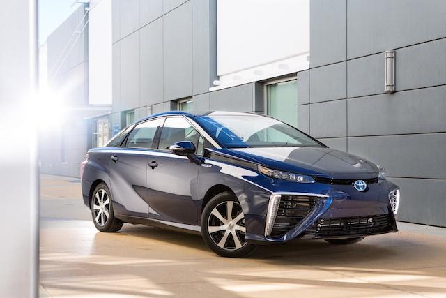 Toyota Mirai Fuel Cell Vehicle (1)