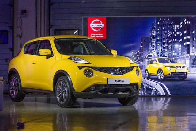 Nissan 2015 Juke Launch Event model