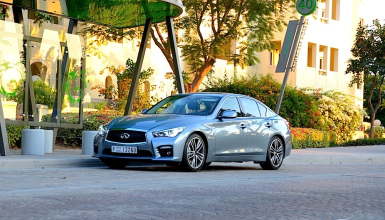 Infiniti Q50 S review UAE