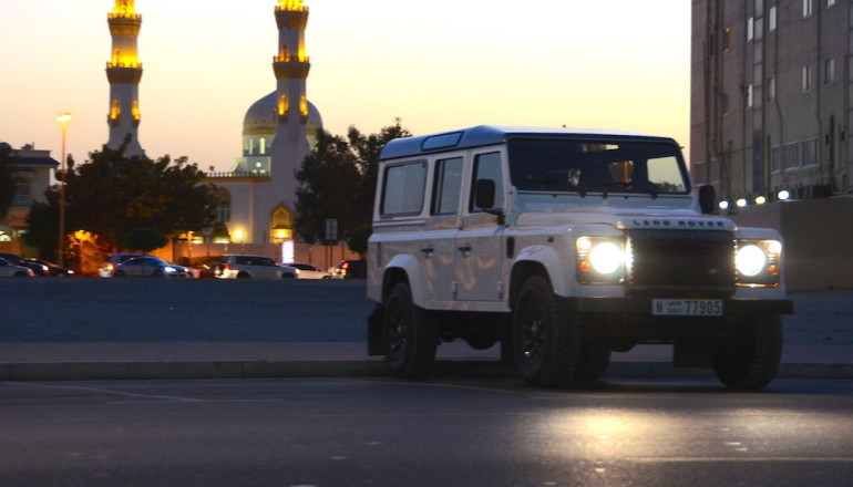 Defender 110 review UAE