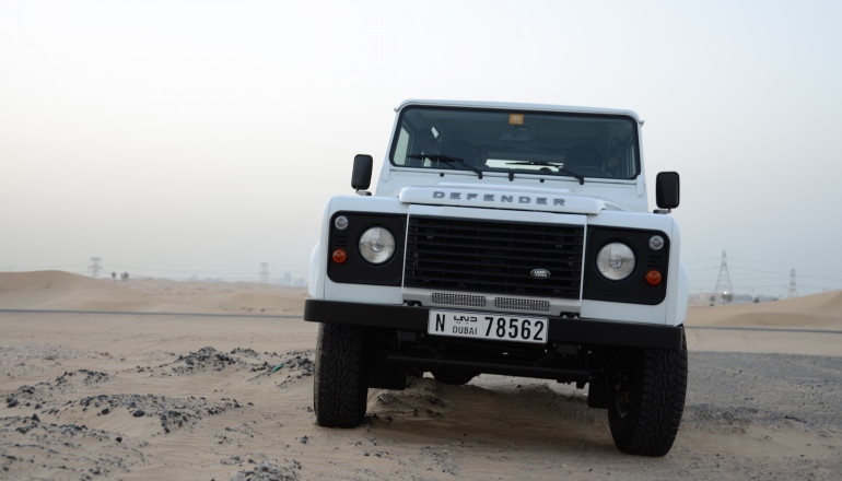 Defender 90 review UAE