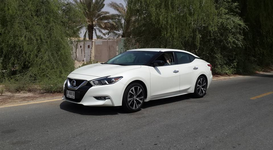 all new nissan maxima 2016 first drive. Black Bedroom Furniture Sets. Home Design Ideas