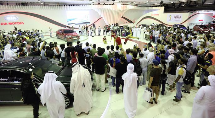 Dubai International Motor Show 2015