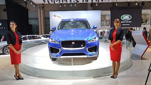 Dubai International Motor Show F-Pace