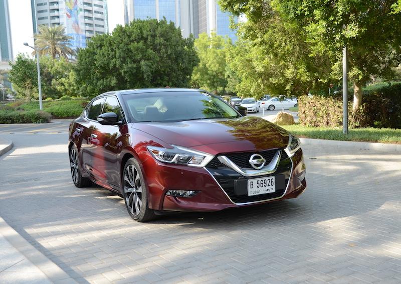Nissan Maxima 2016 front