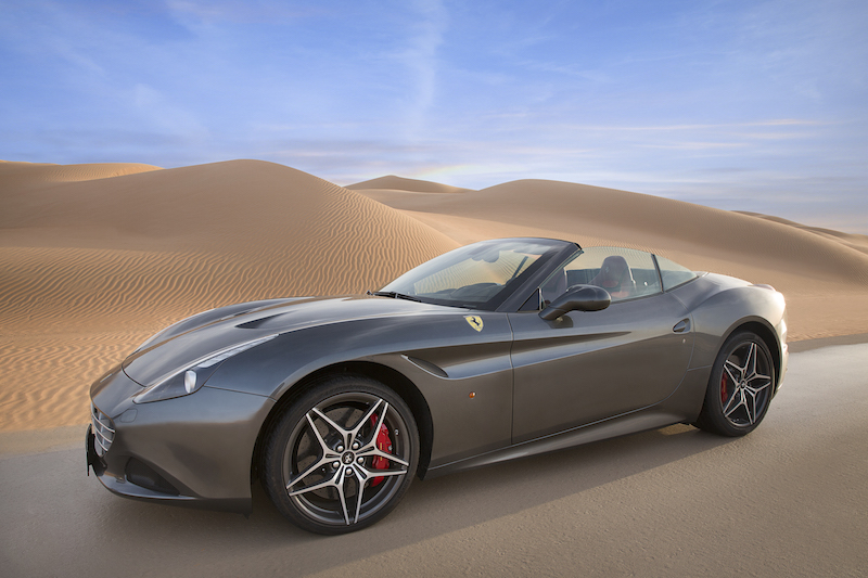 Ferrari Deserto Rosso California T