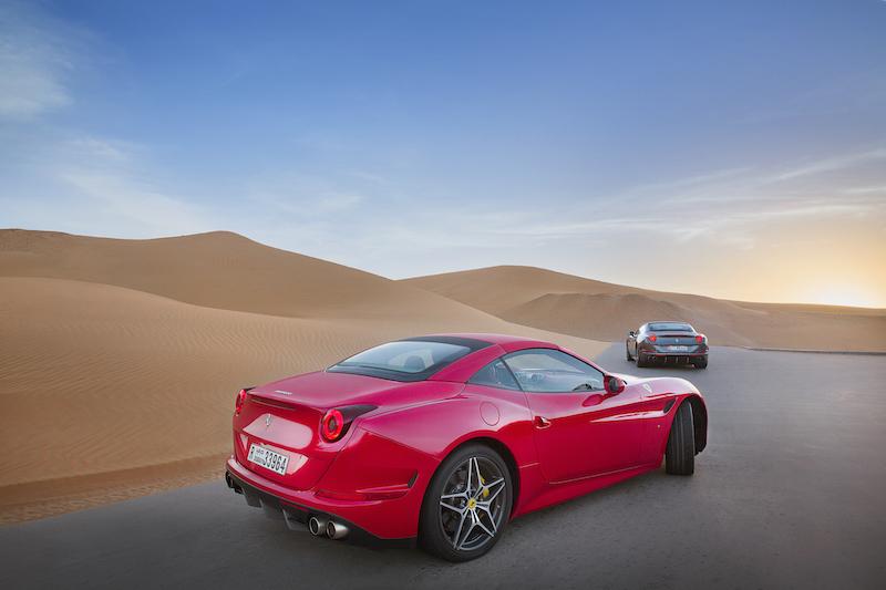 Ferrari Deserto Rosso rear