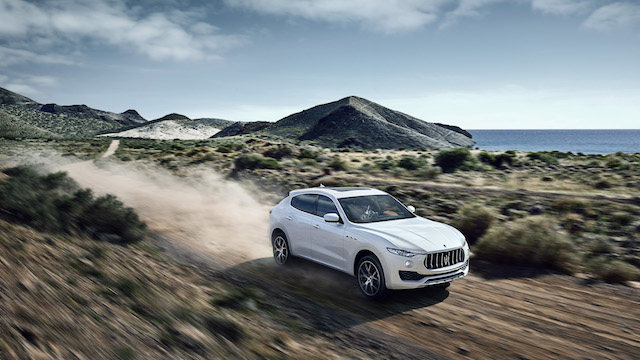 Maserati Levante off road capability