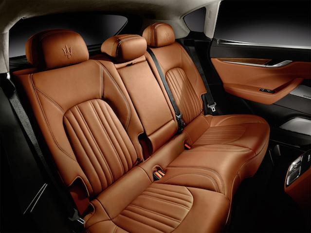 Maserati Levante rear seat