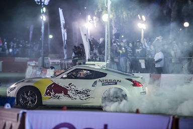 Nissan Partners with Red Bull for Middle Easts Car Park Drift 2016 (3)
