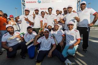 Nissan Street Cricket Activation - Wasim Akram