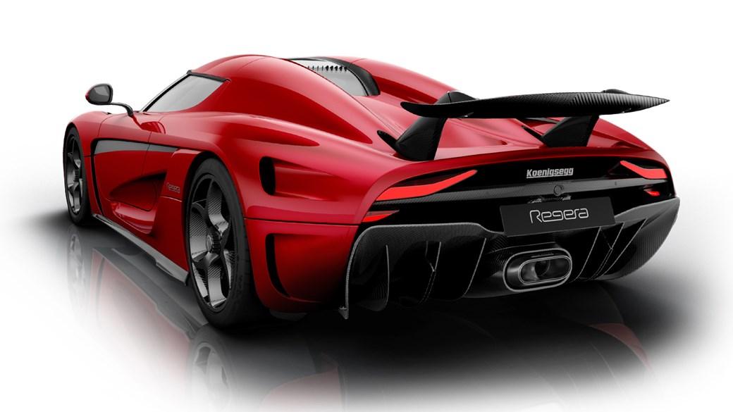 Koenigsegg Regera rear