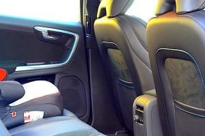 Volvo S60 Polestar rear seats