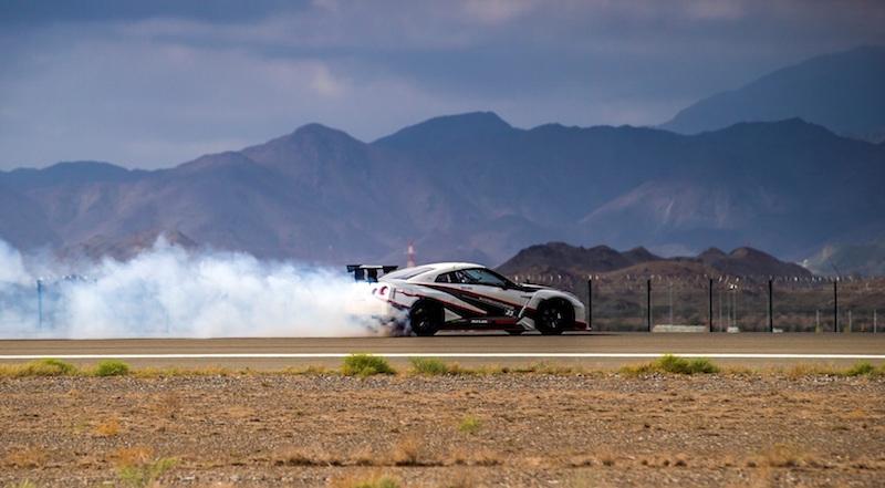 Nissan GTR Fujairah Airport World Record