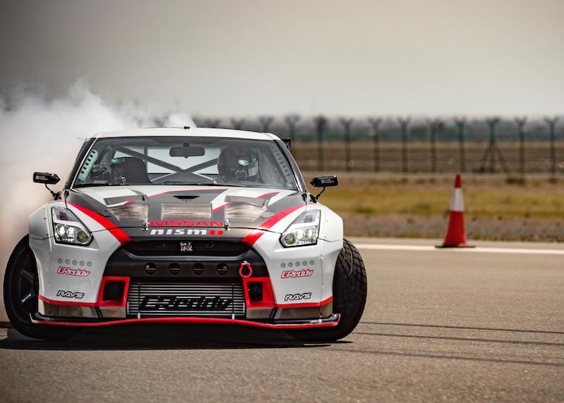 Nissan GTR Fujairah Airport Guinness World Record
