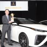 Toyota Mirai award